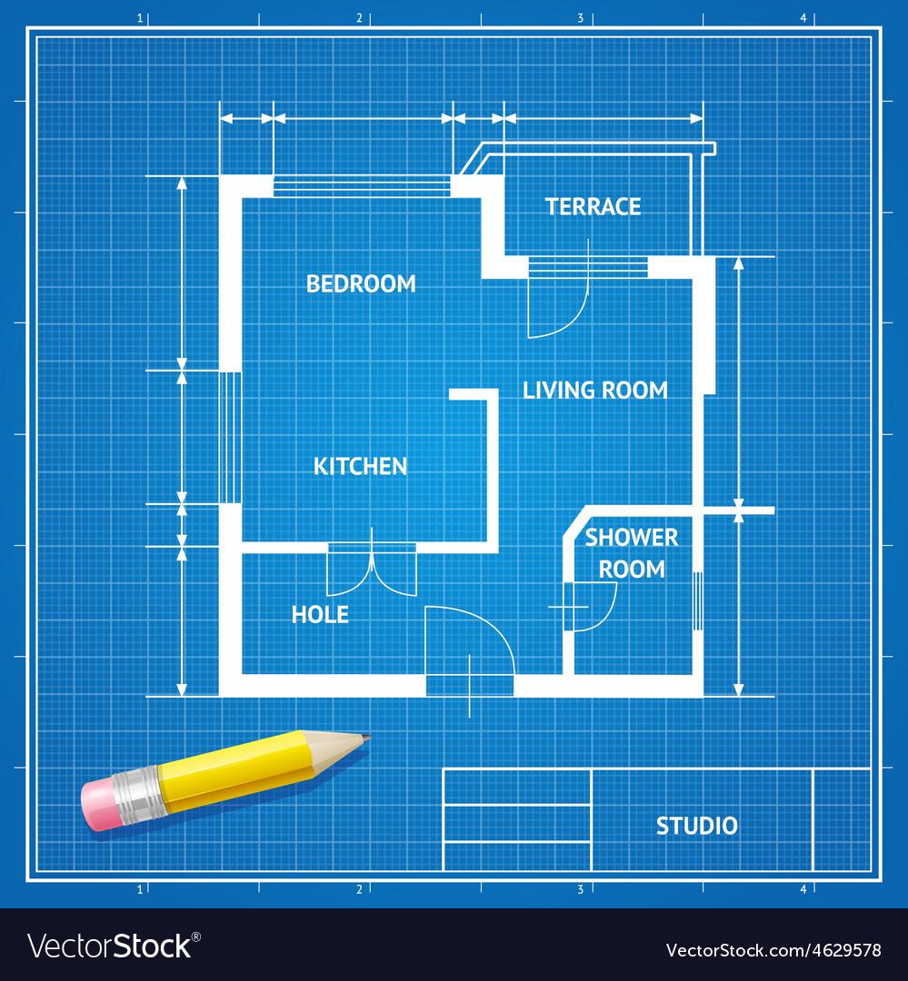 Furniture architect blueprint background vector image furniture architect blueprint background vector image malvernweather Choice Image