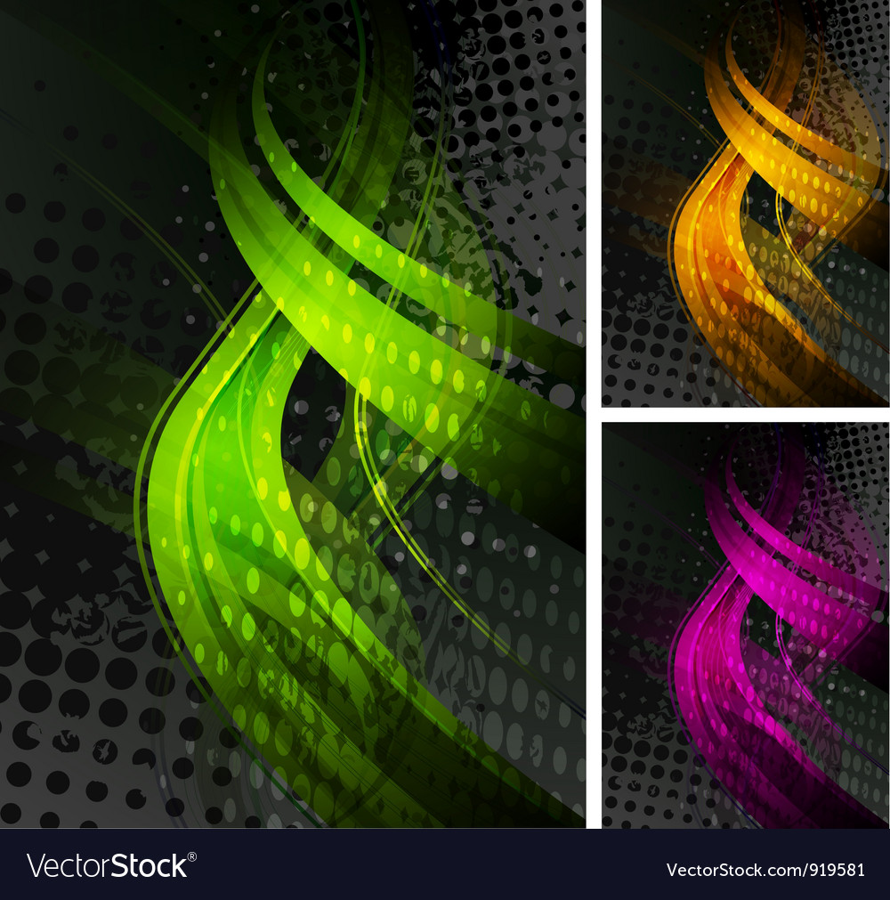 Bright backdrops Vector Image