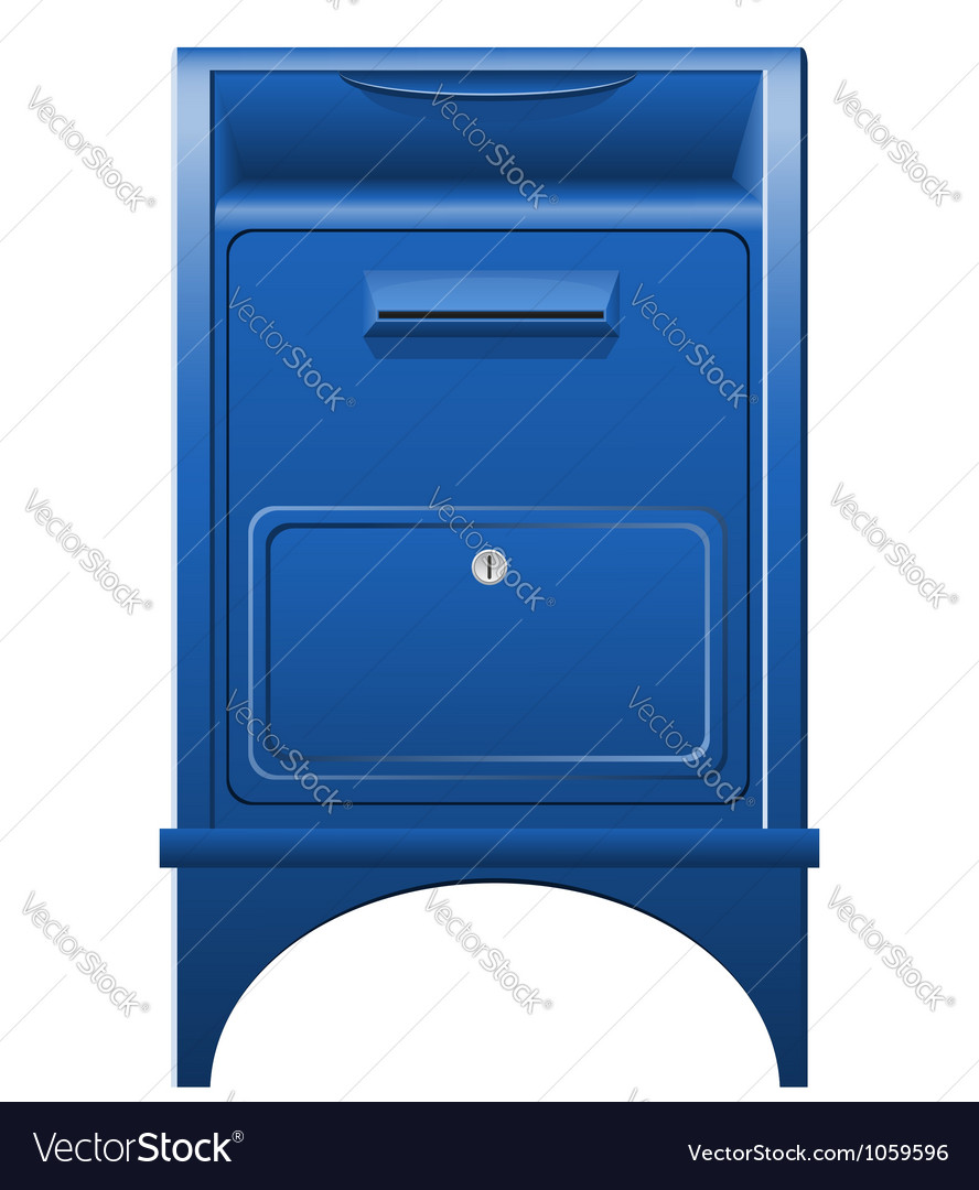 Mailbox icon vector image