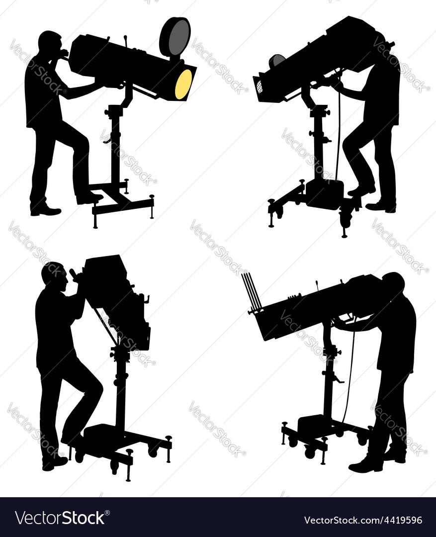 Follow spot vector image