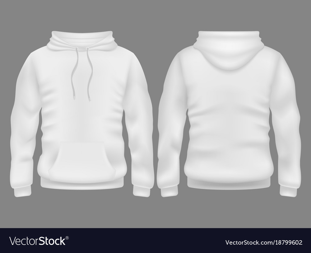 Customized hoodies front and back