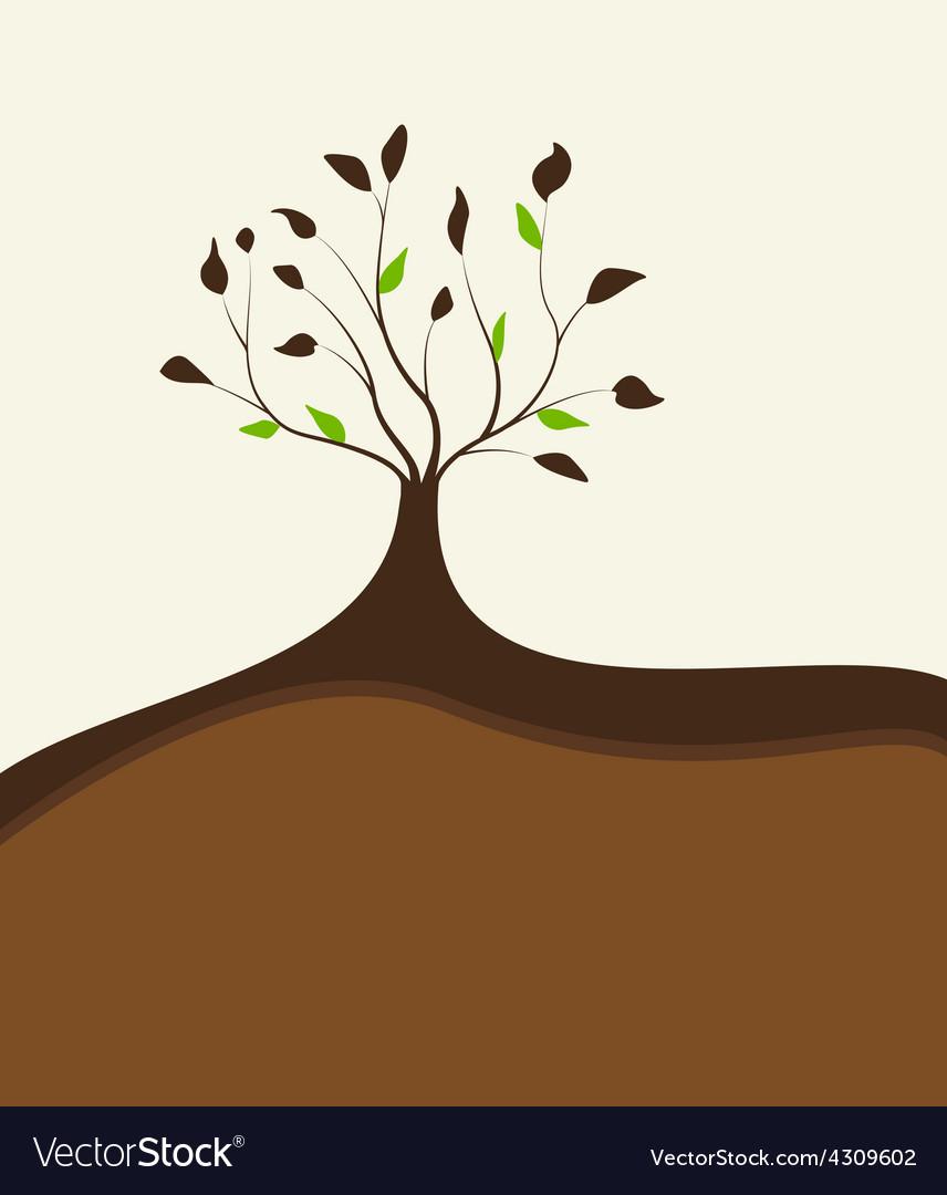 Tree 8 vector image