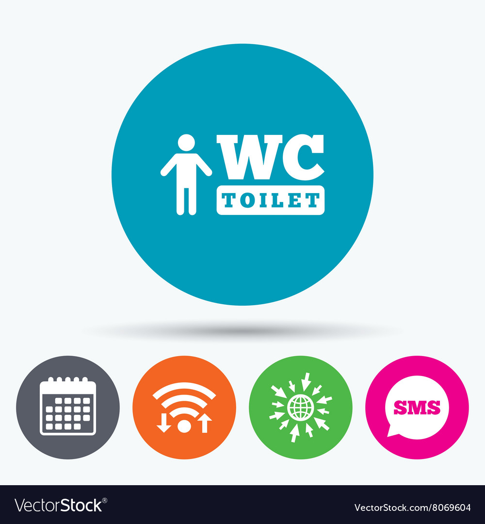 Wc men toilet sign icon restroom symbol royalty free vector wc men toilet sign icon restroom symbol vector image biocorpaavc Choice Image