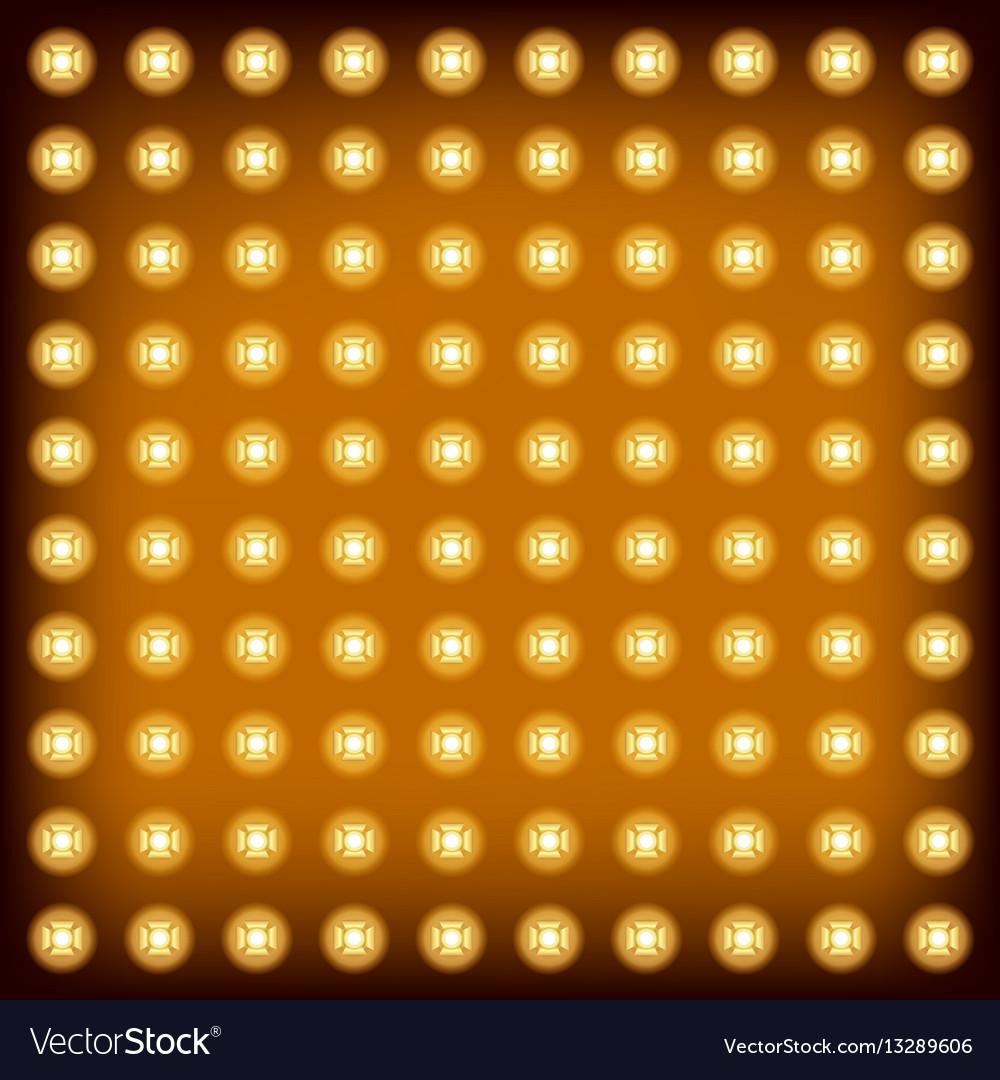 Background light bulb vector image