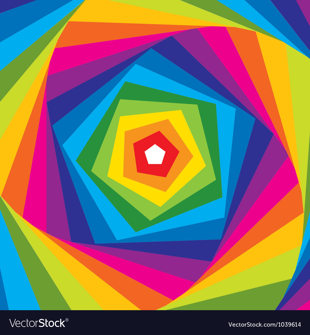 Visual effect background vector image