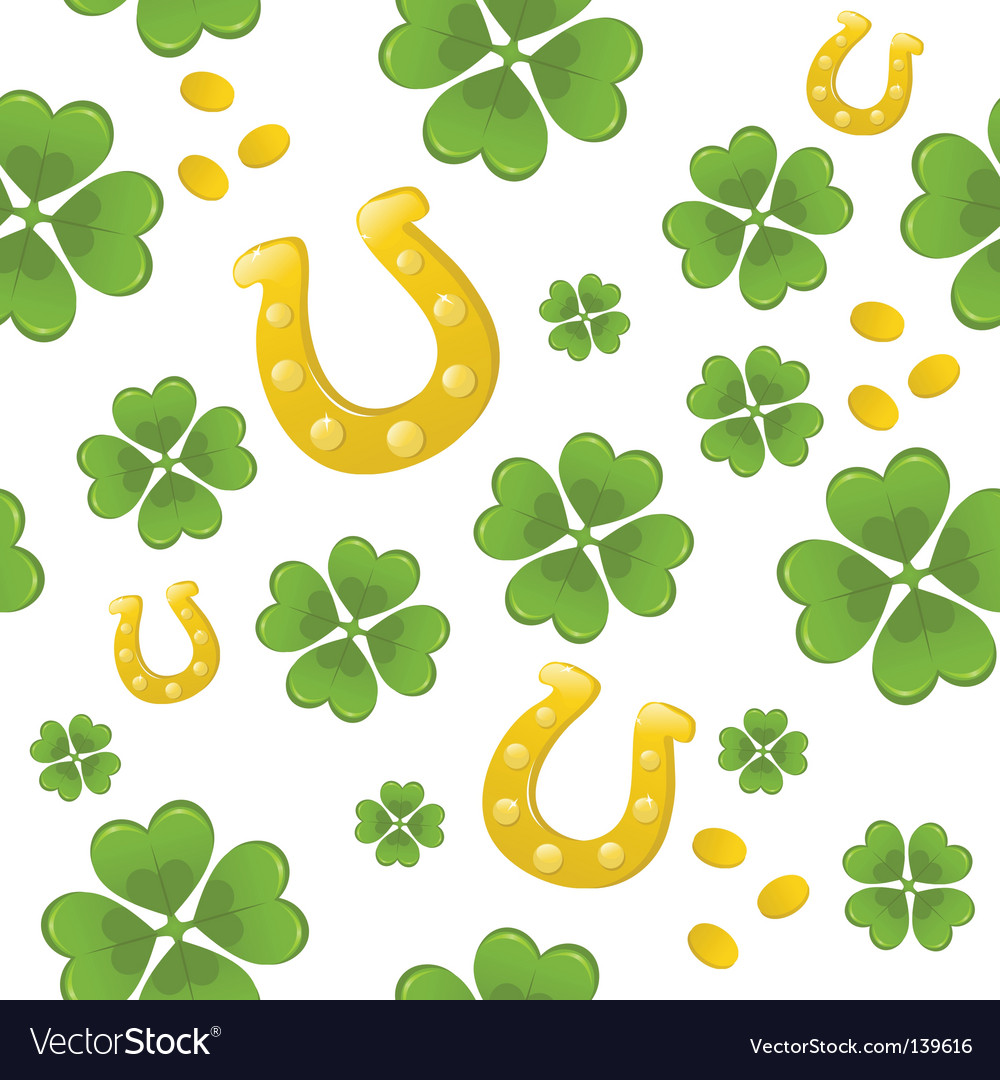 seamless st patrick u0027s day background royalty free vector