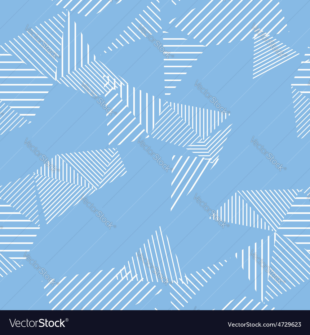 Abstract seamless geometrical pattern vector image
