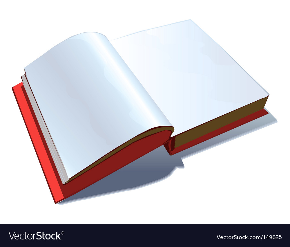 Note book vector image