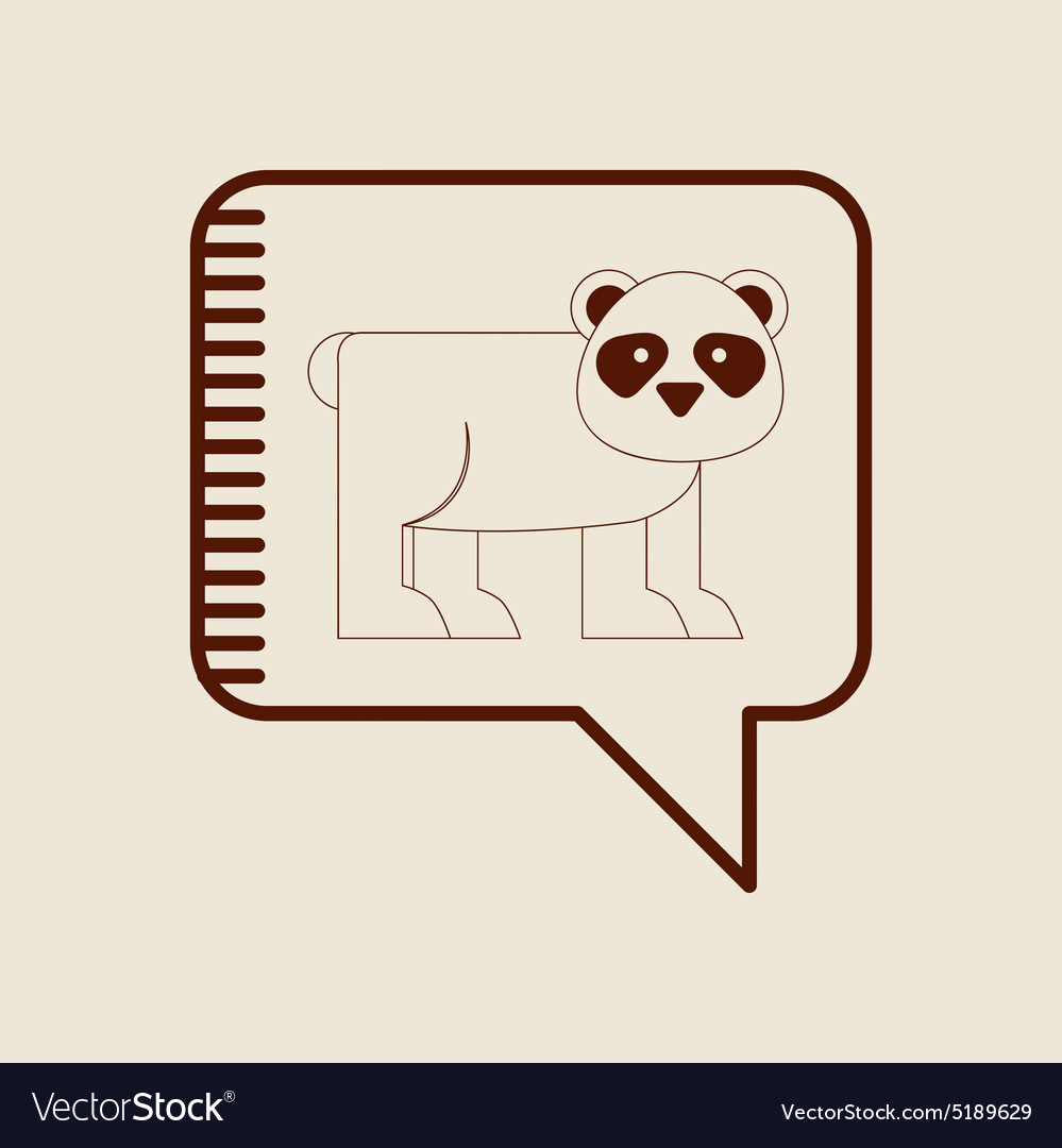 Animal icon vector image