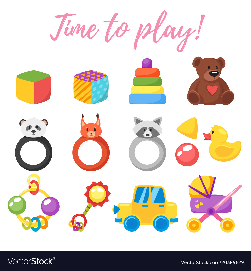 Baby shower set of symbols royalty free vector image baby shower set of symbols vector image buycottarizona Gallery