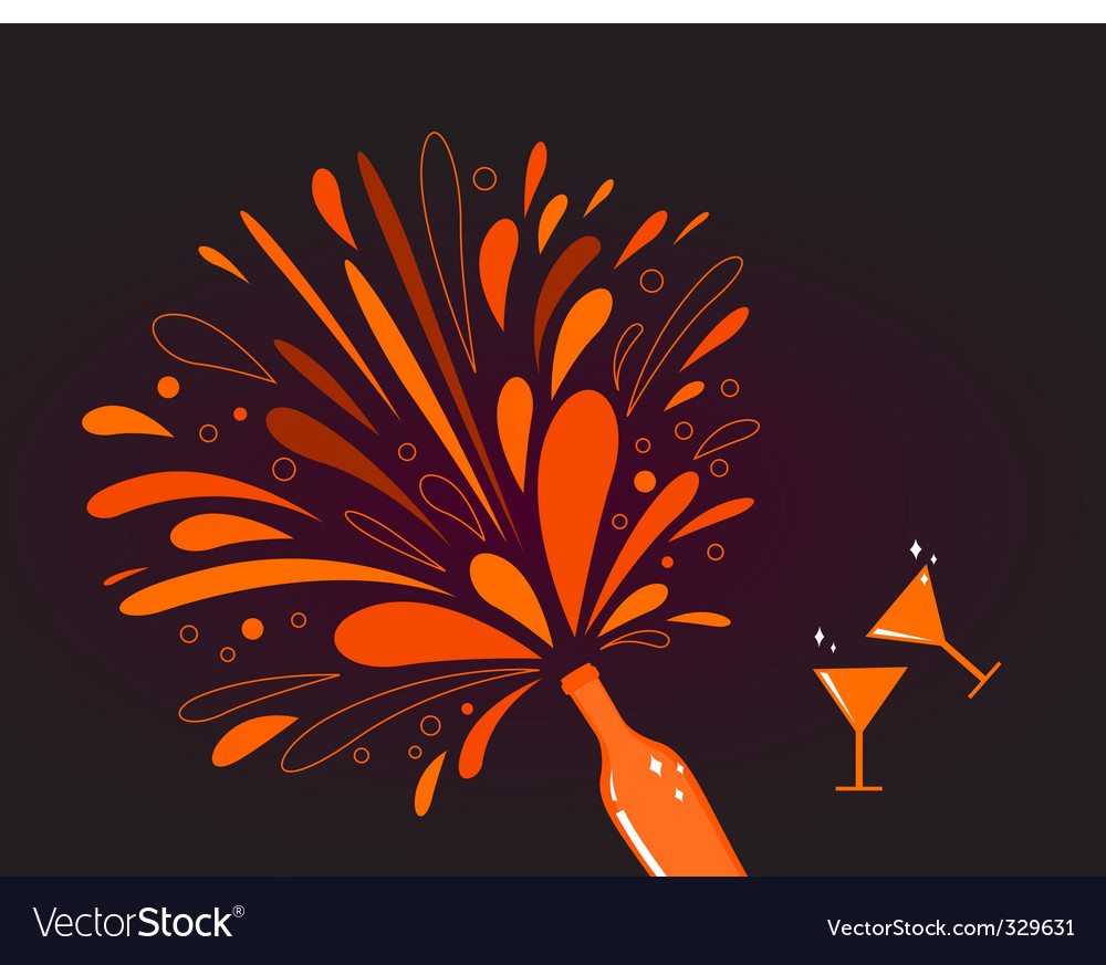 Abstract romance background vector image