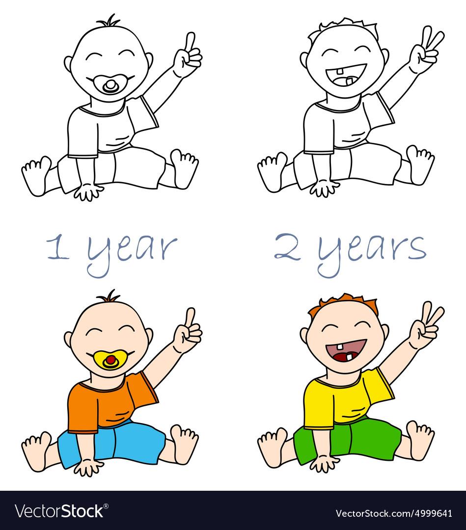 Babys vector image