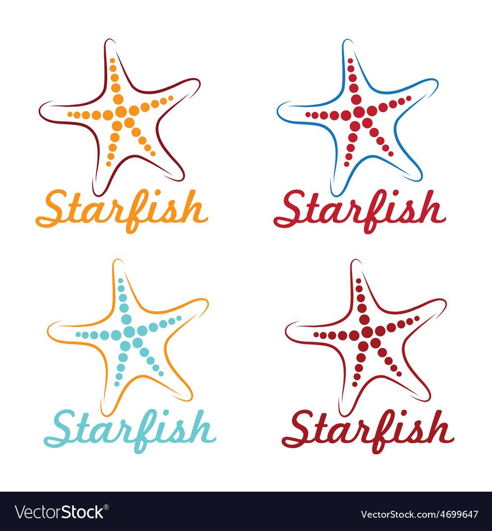 Starfish graphic design