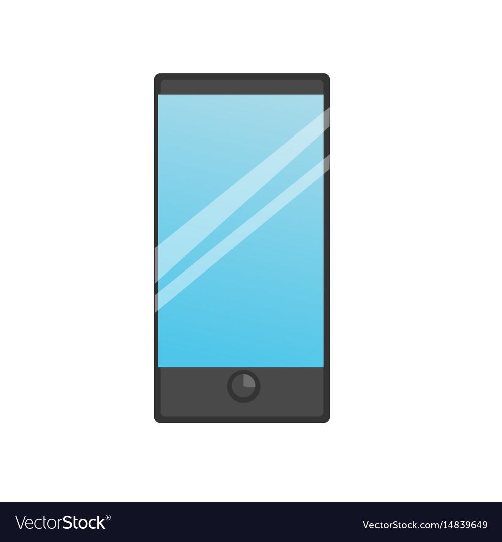 Smart phone icon vector image