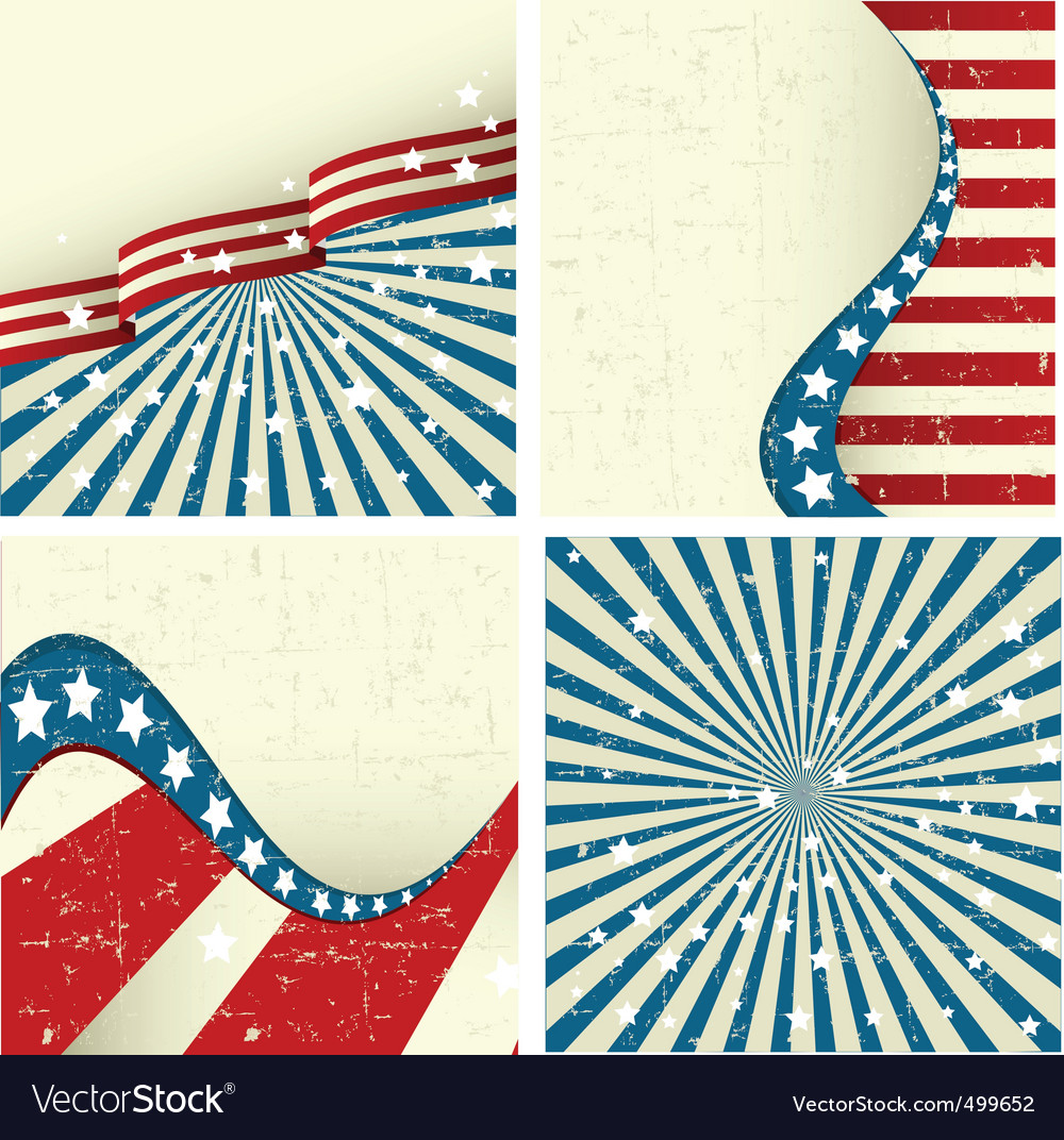 Patriotic background Vector Image