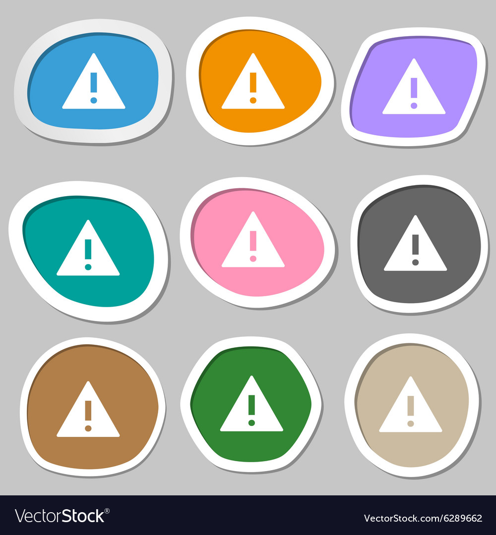 Attention sign icon exclamation mark hazard vector image attention sign icon exclamation mark hazard vector image biocorpaavc