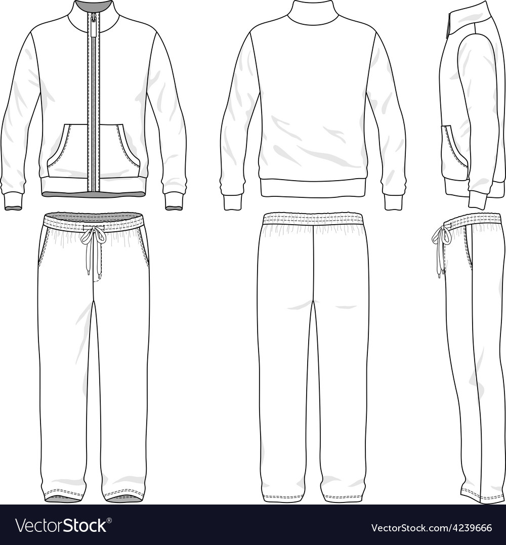 Sweatsuit Design Template