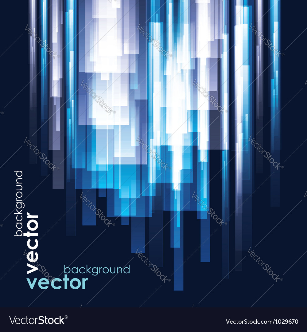 Abstract Light Glow Background Vector Image