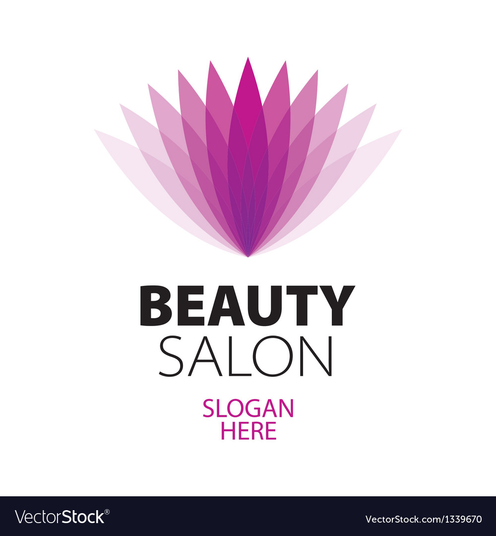 Abstract logo beauty salon royalty free vector image for Abstract beauty salon