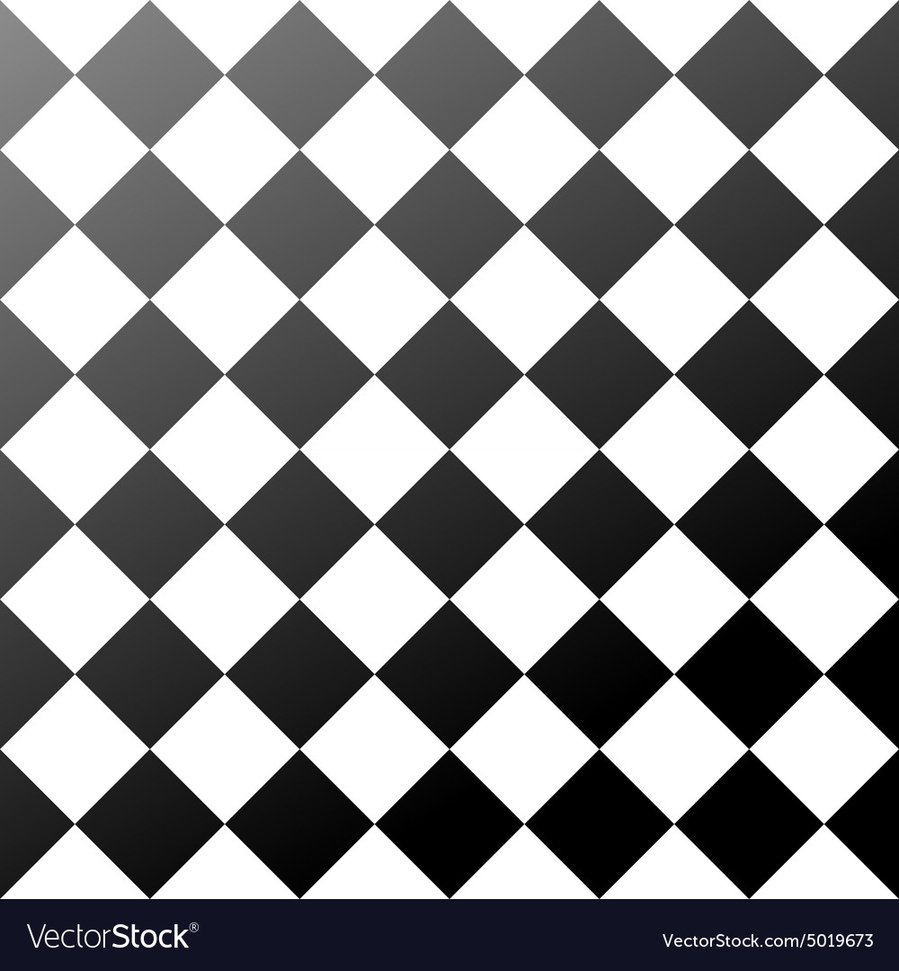 Ceramic tiles black and white chess board seamless