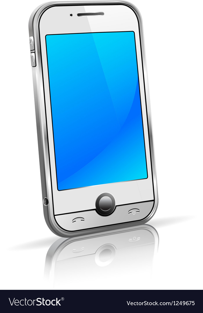 Mobile Cell Smart Phone vector image