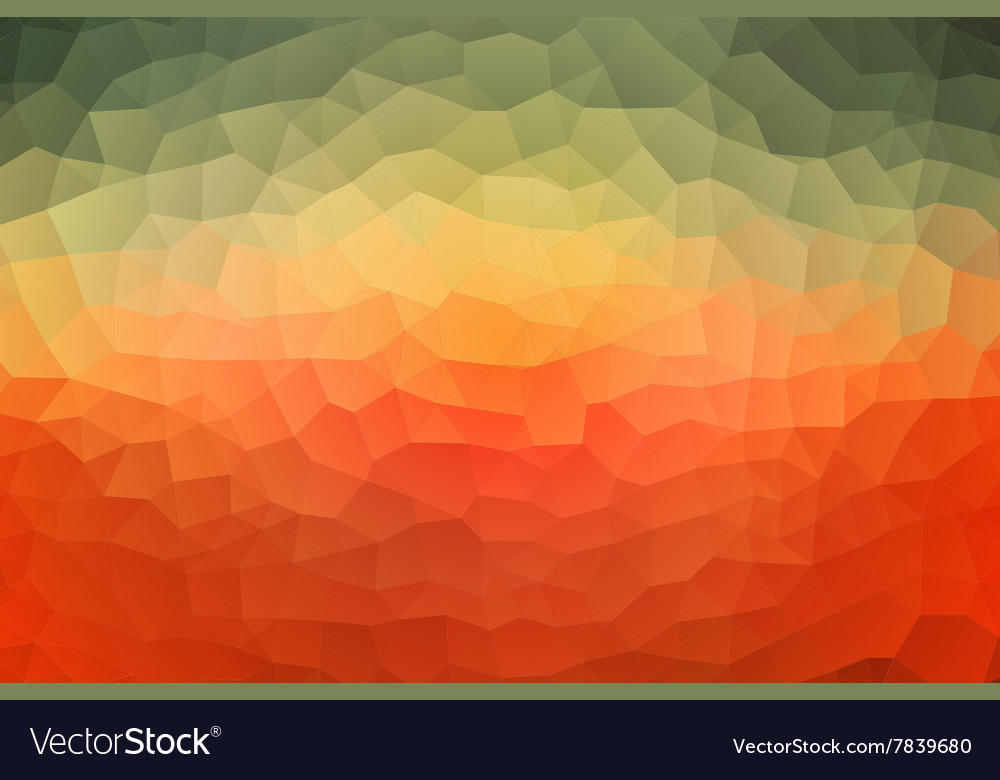 Abstract triangles pattern multicolor background vector image