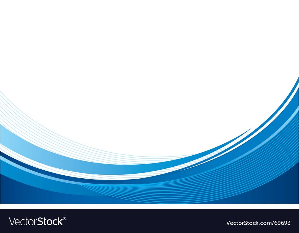 Blue back Royalty Free Vector Image - VectorStock