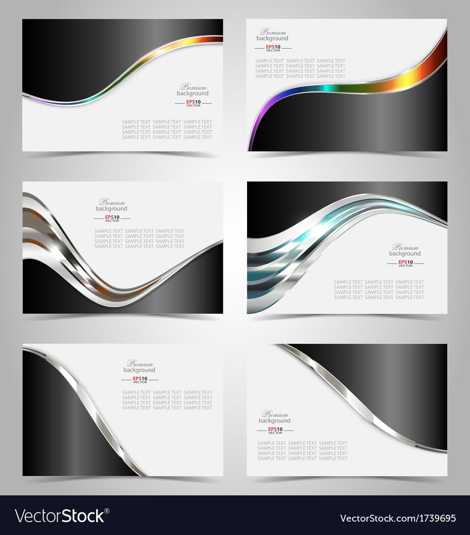 Elegant business card design template royalty free vector elegant business card design template vector image wajeb Choice Image