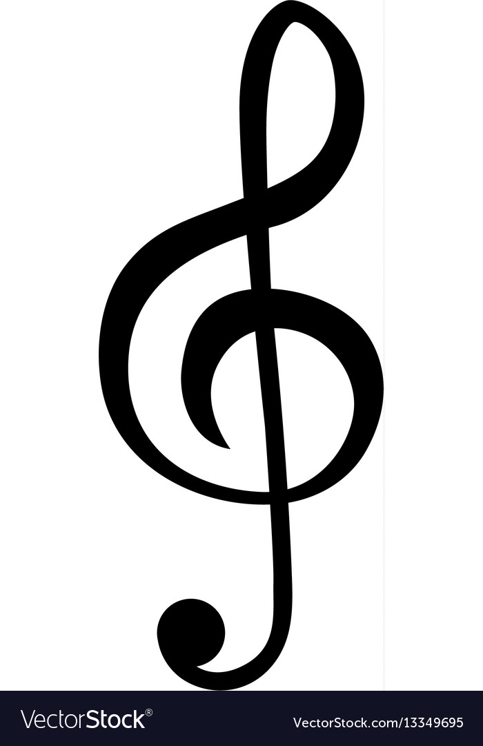 Music note symbol royalty free vector image vectorstock music note symbol vector image biocorpaavc Images