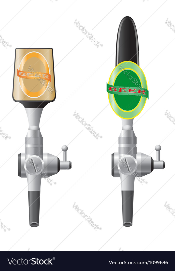 Beer equipment 03 vector image