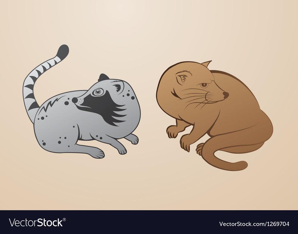 Luwak vector image