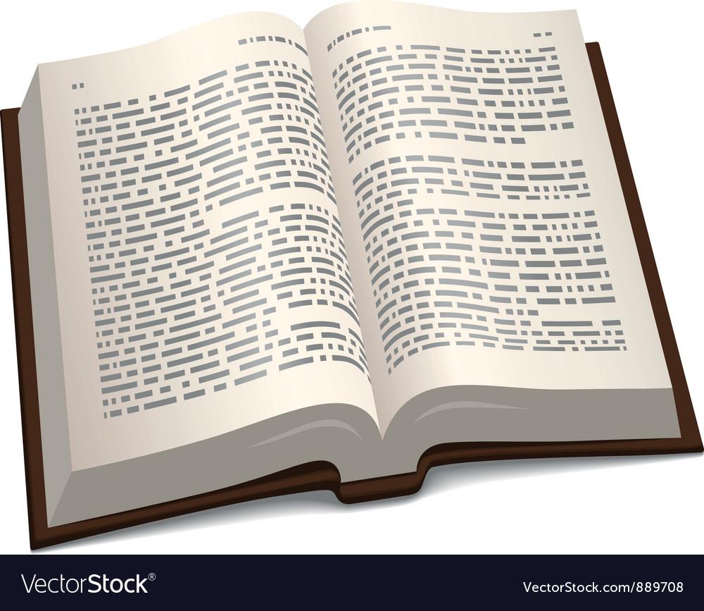 E book vector image