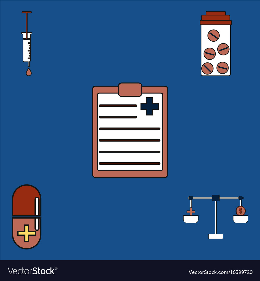 Collection of icons and medical stuff