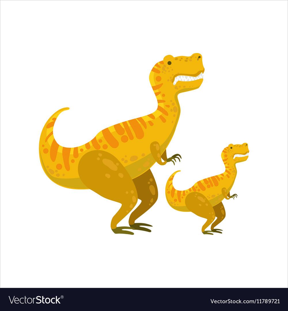 Tirannosaurus Rex Dinosaur Prehistoric Monster vector image