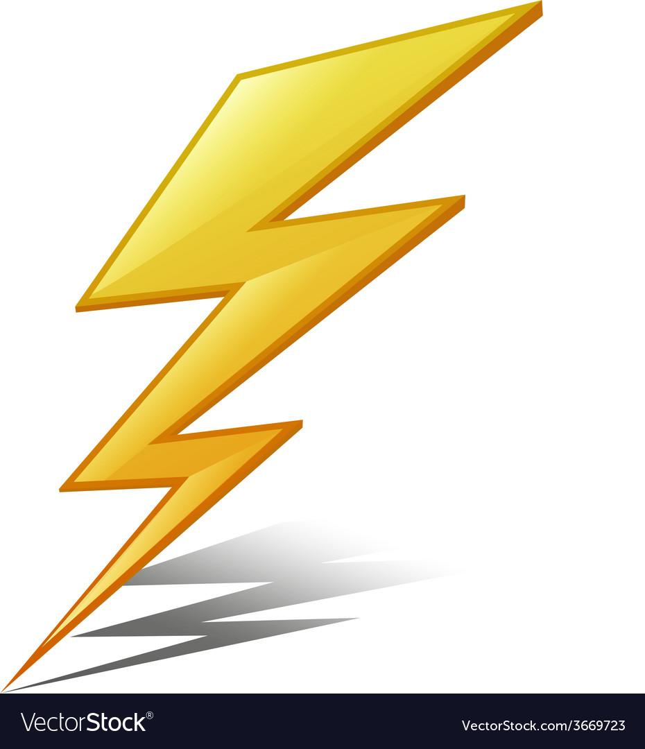 Lightening vector image