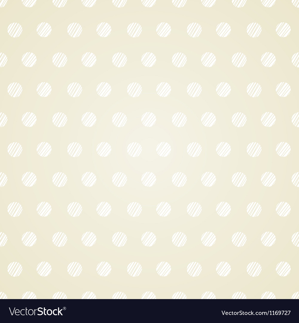 Vintage polka dots set of four seamless patterns vector image