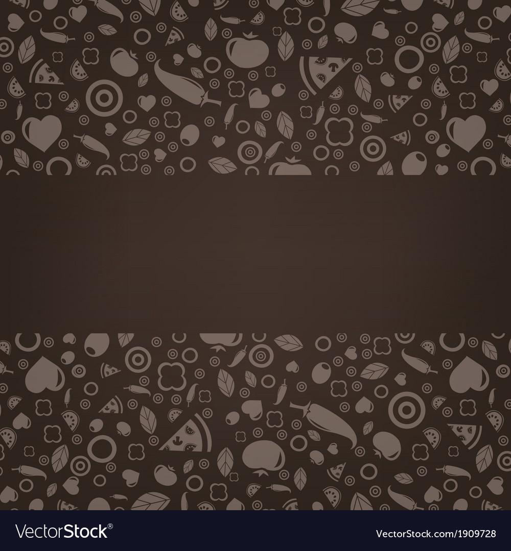 Restaurant Menu Design Card vector image