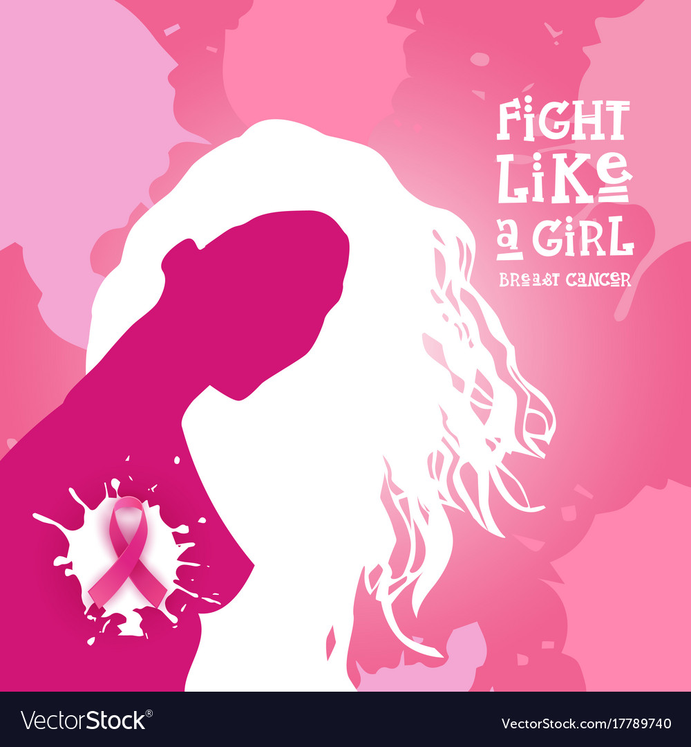 Breast cancer awareness month pink ribbon symbol vector image breast cancer awareness month pink ribbon symbol vector image biocorpaavc Choice Image
