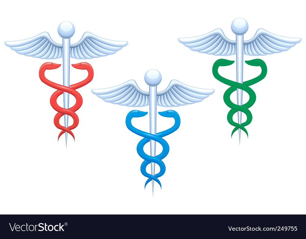 Medical sign vector image