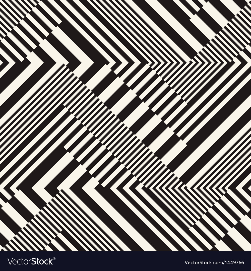 Stripes chevron vector image