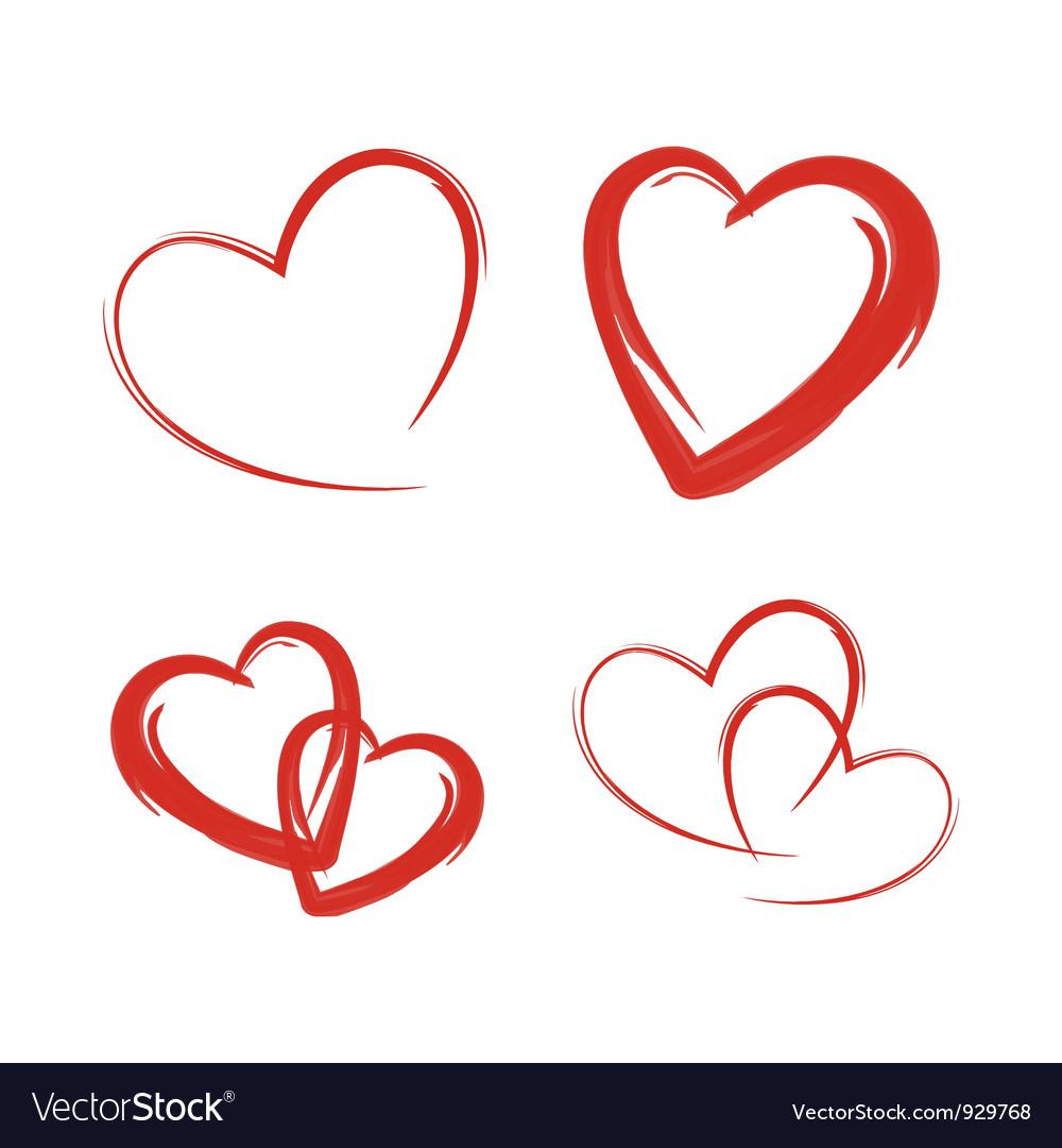 Heart Royalty Free Vector Image - VectorStock