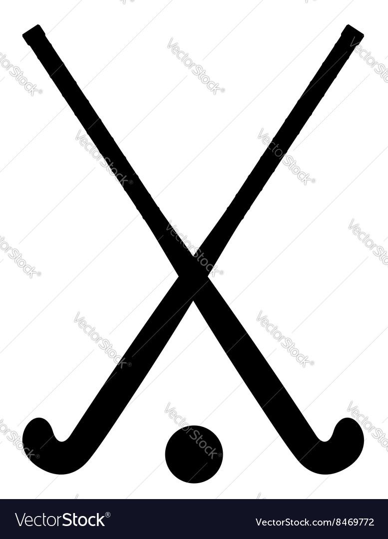 Field hockey 04 vector image