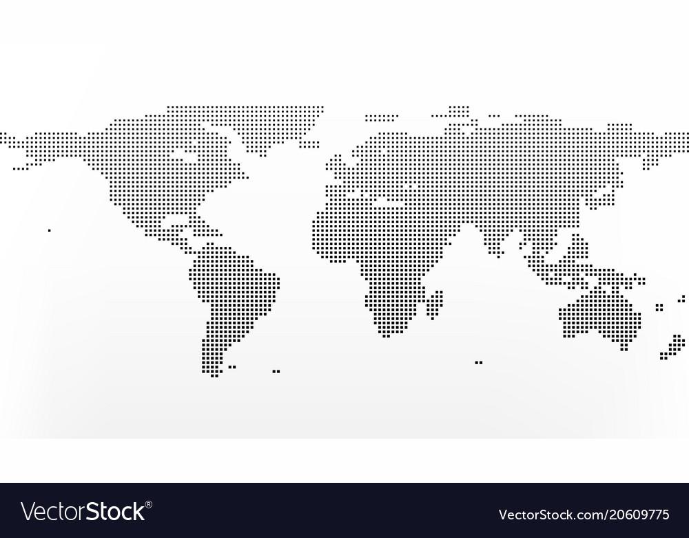 Line Art Earth : Halftone gray globe earth point line illustration asia india