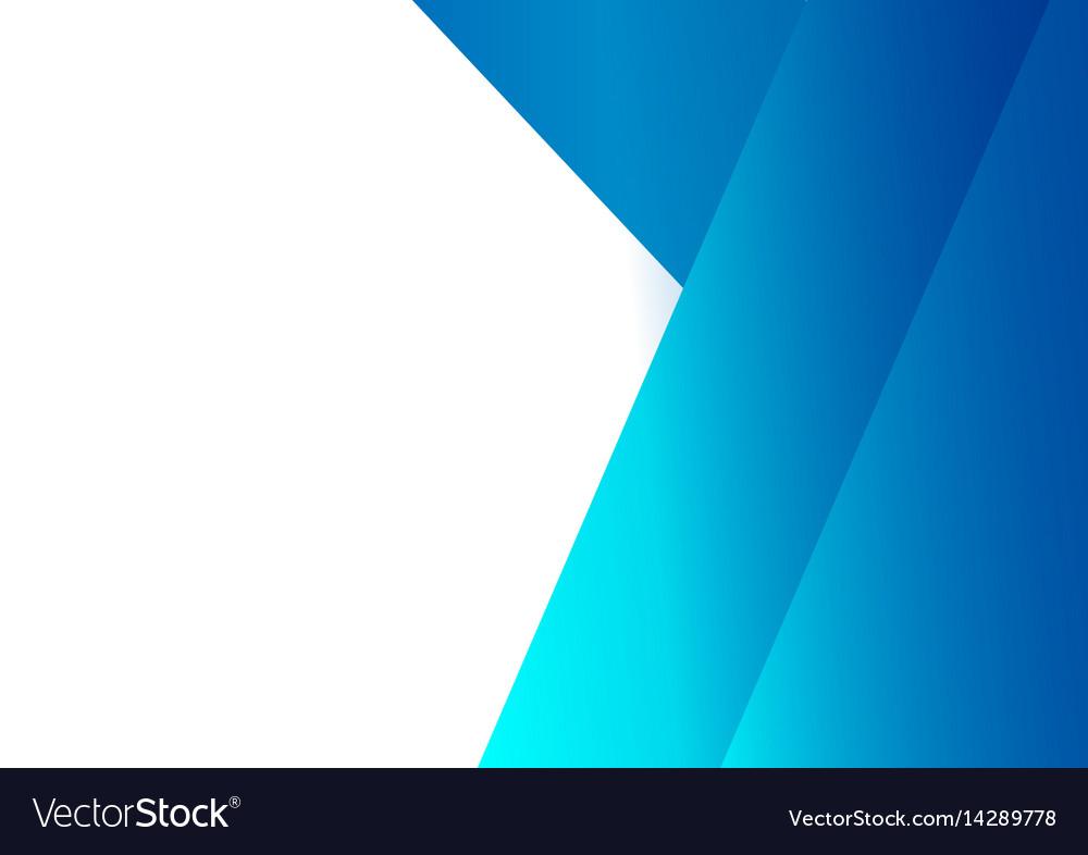 Shape blank background - design concept vector image