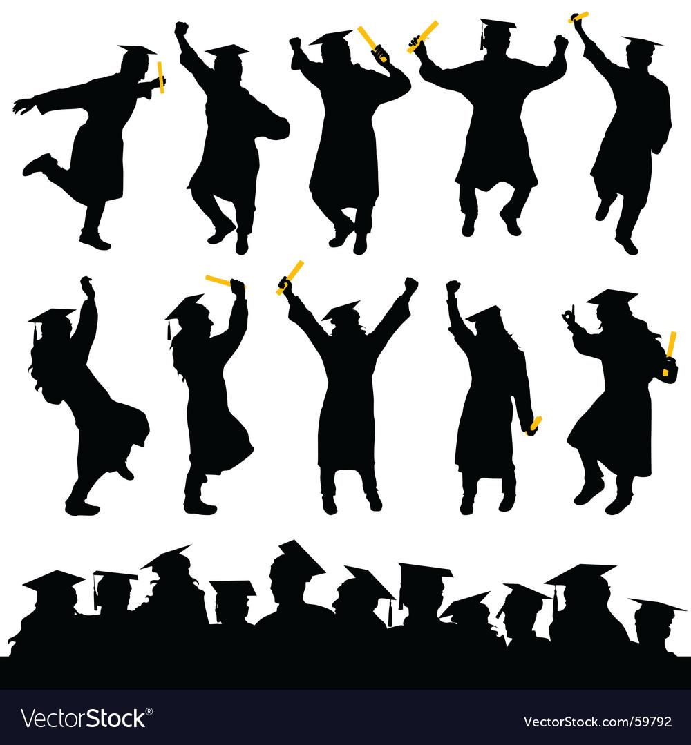 Graduation Vector Image