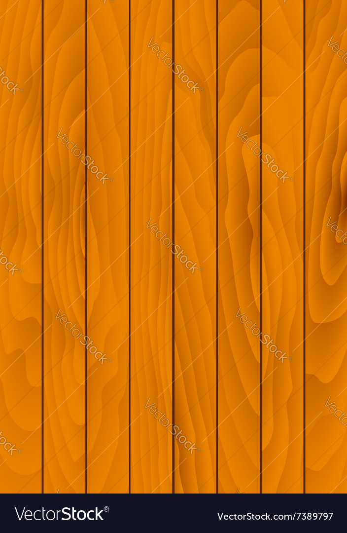 Brown wooden background with natural texture vector image