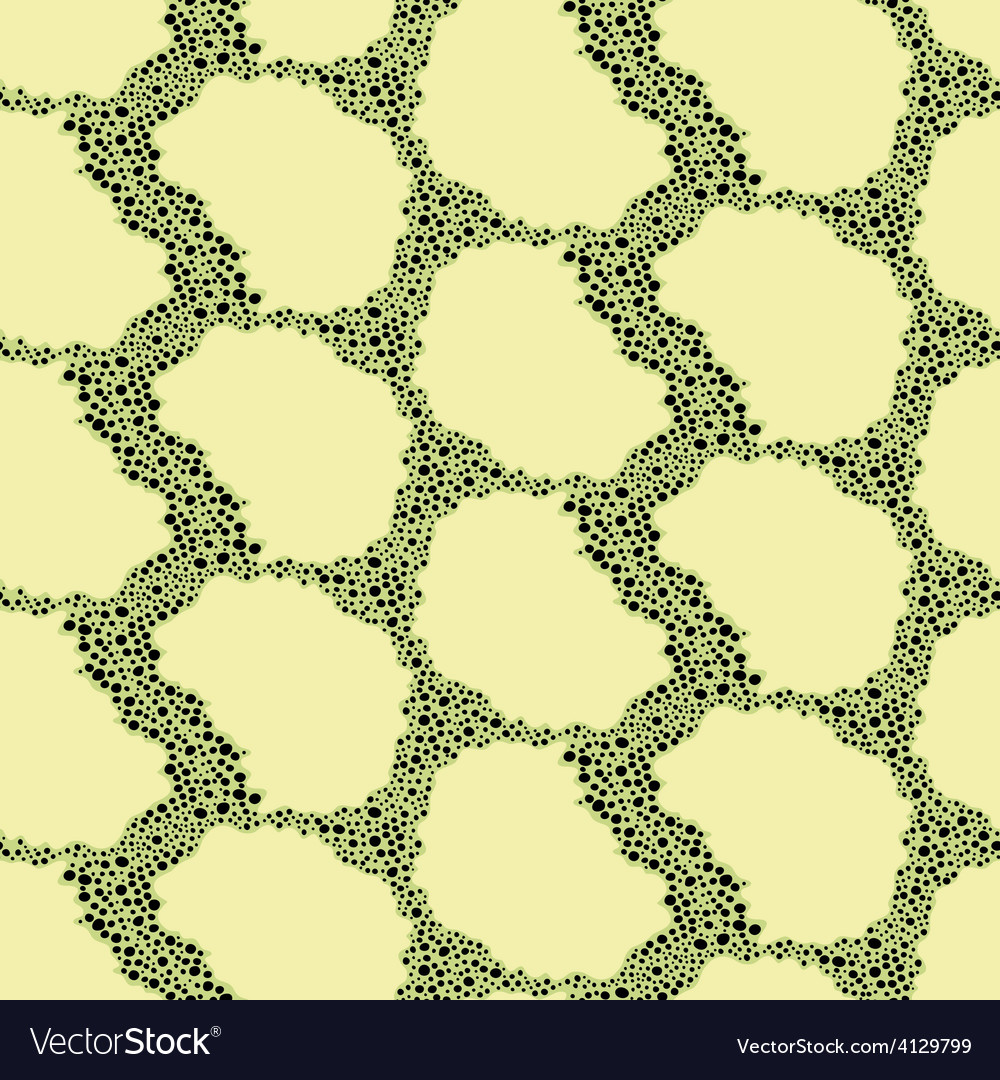 Seamless abstract snake pattern vector image