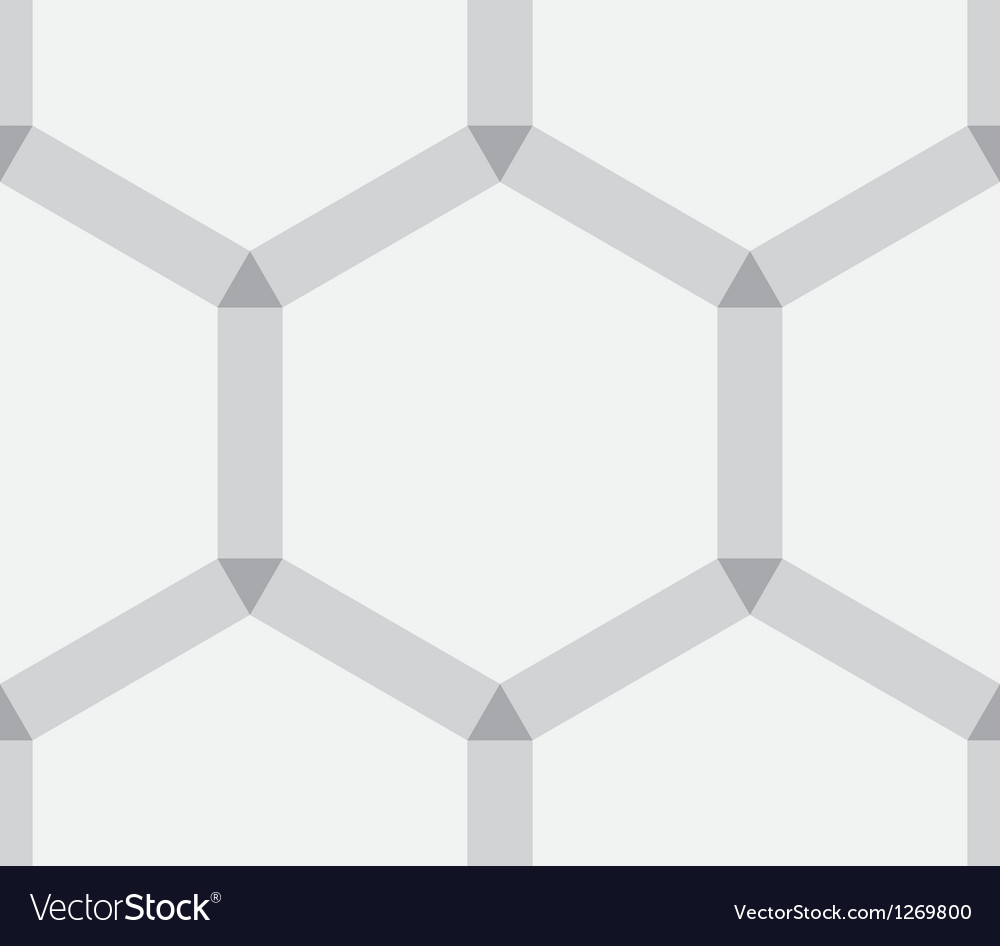 Hexagonal abstract texture as background vector image