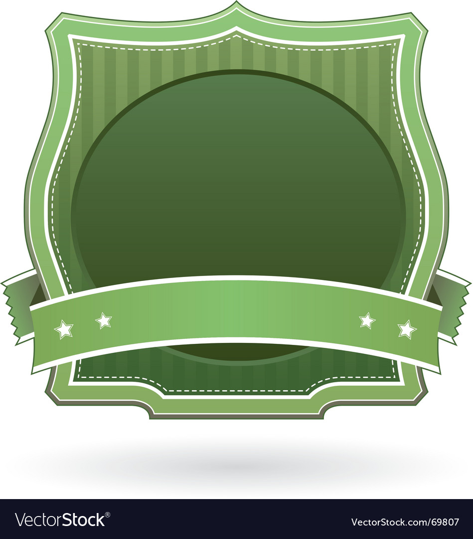 Package label vector image