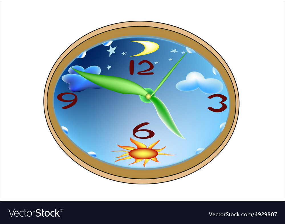 Watch for a childs room vector image